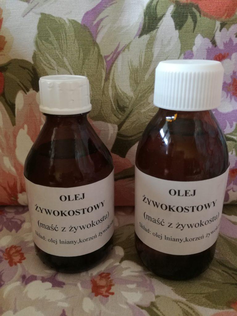 olej żywokostowy