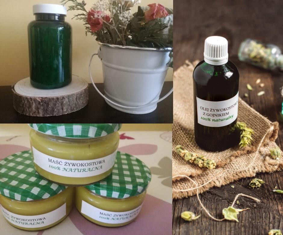 Zestaw ziołowy leczniczy STAWY KOŚCI MIĘŚNIE BÓLE